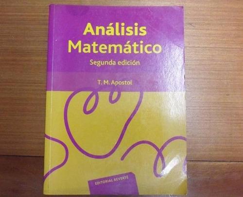 análisis matemático de tom apostol 2 edición