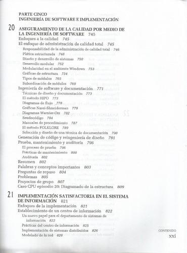 análisis y diseño de sistemas. kendall. 3a edición.