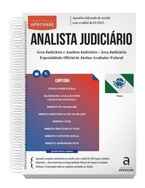analista judiciário - área judiciária - trt / pr
