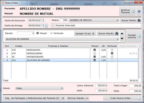 analisys soft laboratorios bioquimicos (licencia anual)