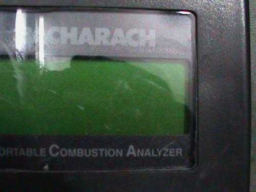 analizador de gases de combustion bacharach pca