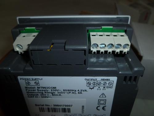 analizador electrico general electric mt962com 5a/520v rs485