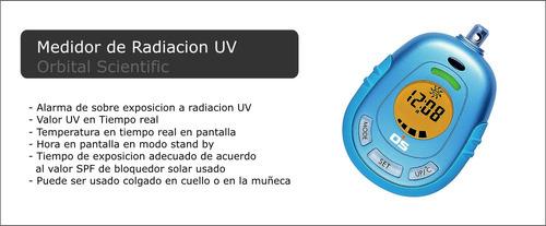 analizador medidor de radiacion uv