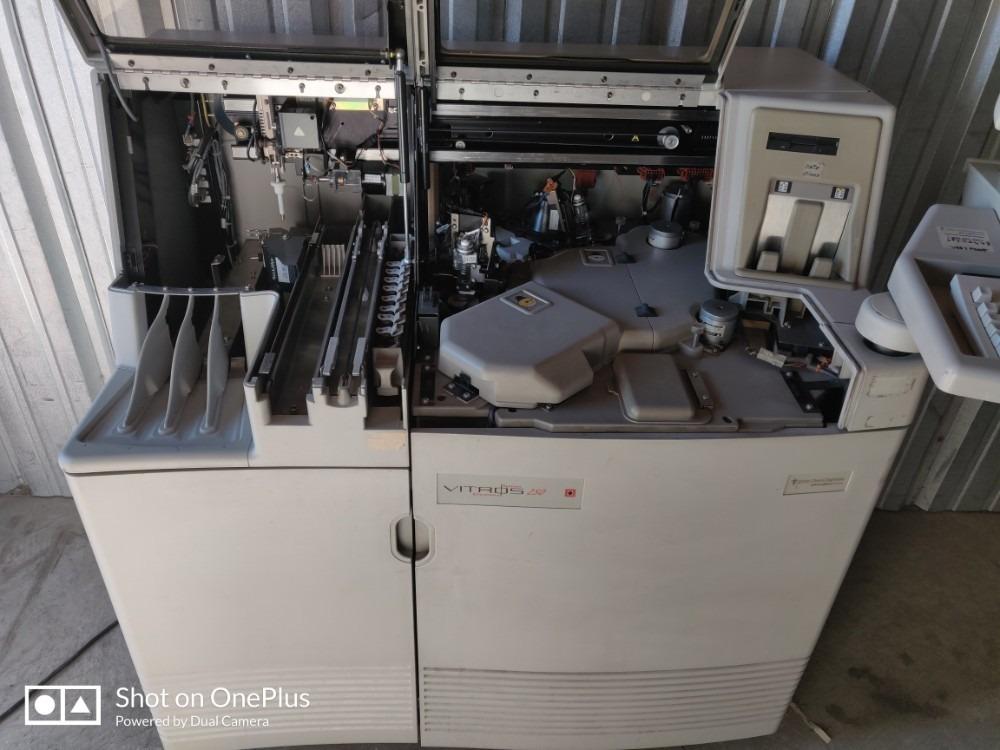 analizador quimica seca vitros 250