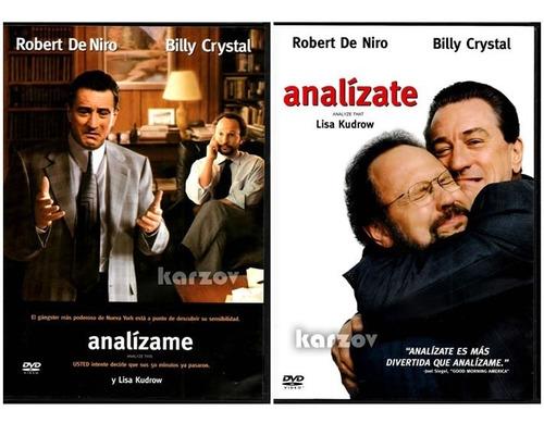 analizame y analizate robert de niro paquete 2 peliculas dvd