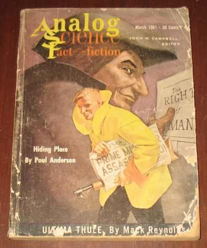 analog science fact & fiction ciencia ficción 1961 en inglés