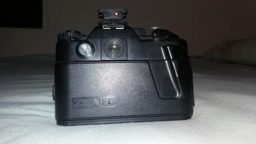 analógica zenit câmera