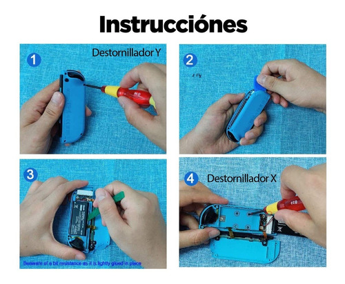 analogico control joy con nintendo switch respuesto stick