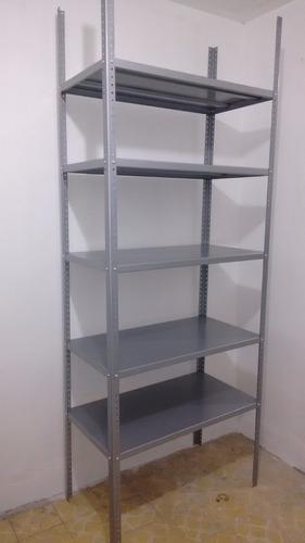 anaquel estante metalico 5 niveles, estanteria metalica rack