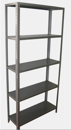 anaquel  estante metálico 6 niveles estantería .60x.30