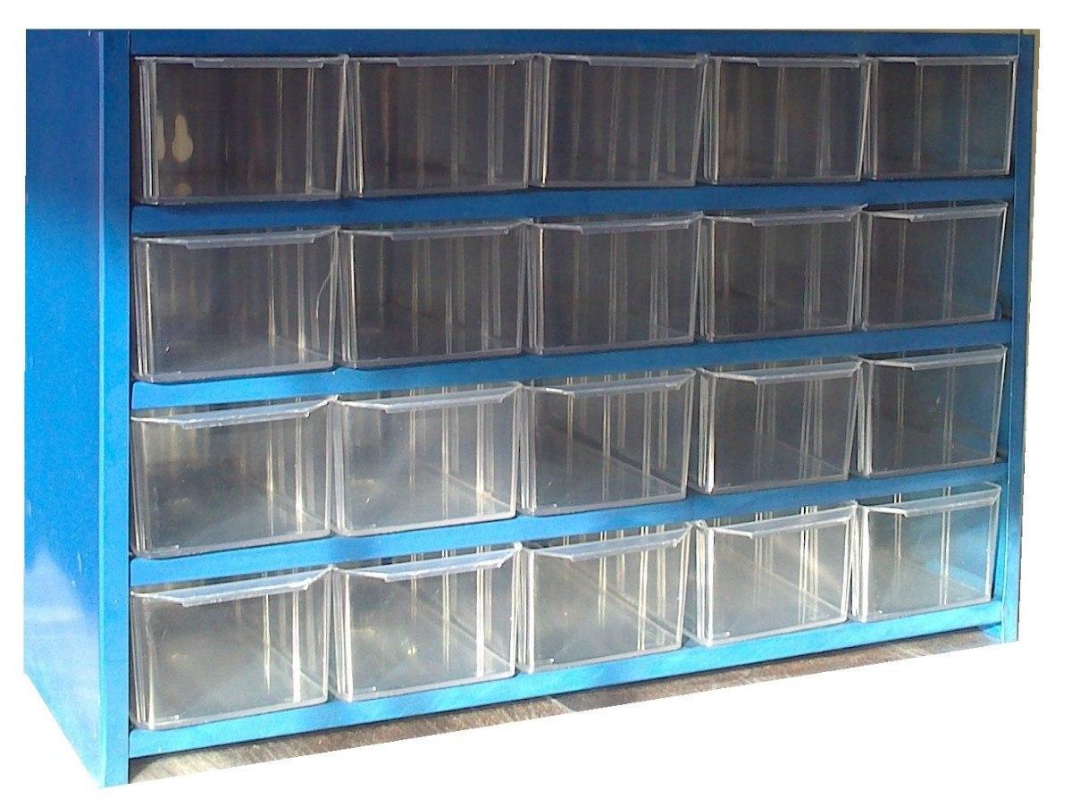 Anaquel vicible cajonera plastico en mercado libre for Cajoneras de plastico