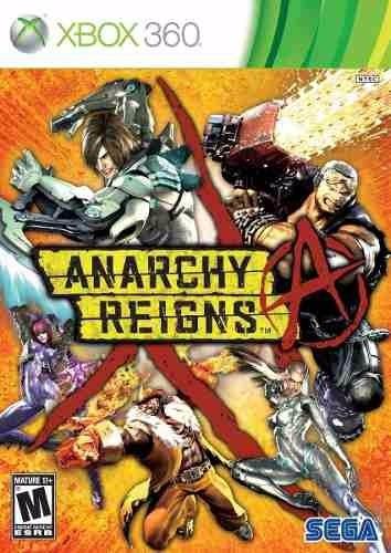 anarchy reigns nuevo sellado xbox 360