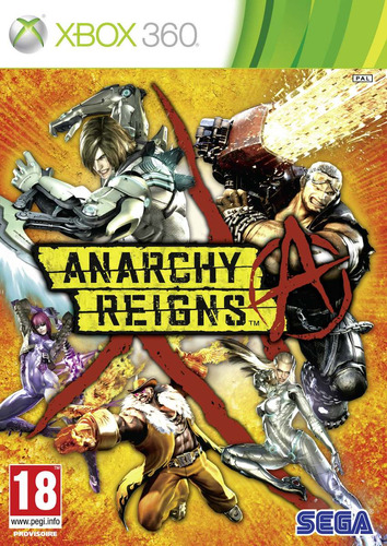 anarchy reigns xbox 360 nuevo, sellado ntsc
