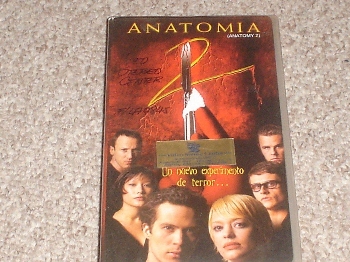 Anatomia 2 Vhs Pelicula - $ 2.300 en Mercado Libre
