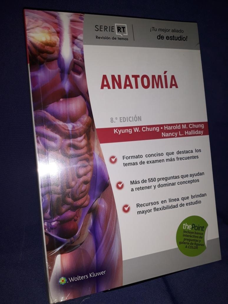 Anatomia 8°ed Serie R T Chung - $ 719,00 en Mercado Libre
