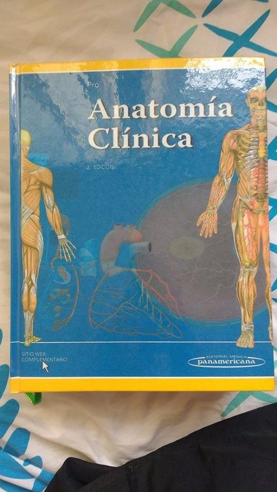 Anatomía Clínica De Pro Segunda Edición - $ 130.000 en Mercado Libre
