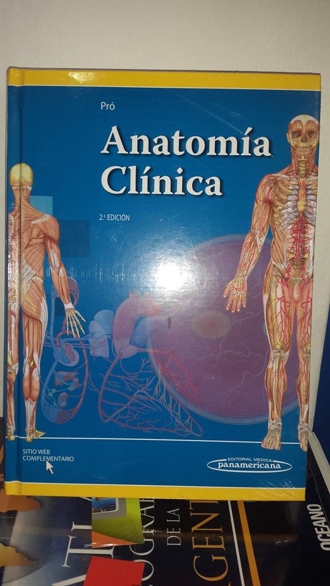 Anatomia Clinica Pro 2ªed - $ 2.549,00 en Mercado Libre