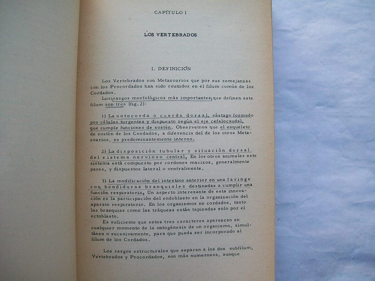 Anatomia Comparada De Los Vertebrados Pisano Barbieri Eudeba - $ 500 ...