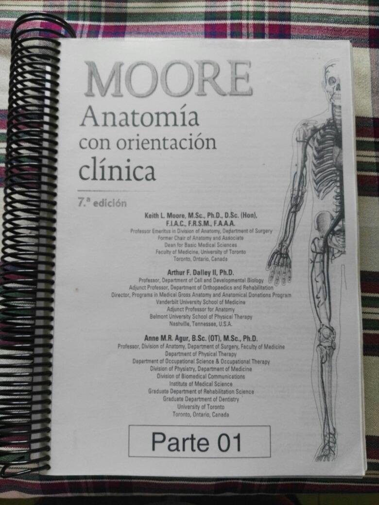 Lujoso Anatomía Clínica Por Moore Cresta - Anatomía de Las ...