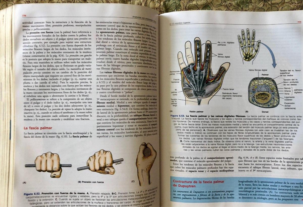 Anatomía Con Orientacion Clinica - Moore - $ 20.000 en Mercado Libre