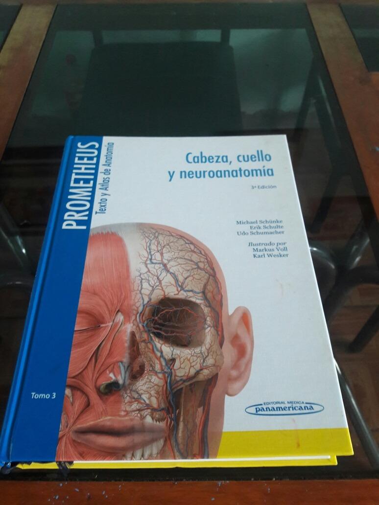 Anatomia De Cabeza Y Cuello Prometheus - $ 1,100.00 en Mercado Libre