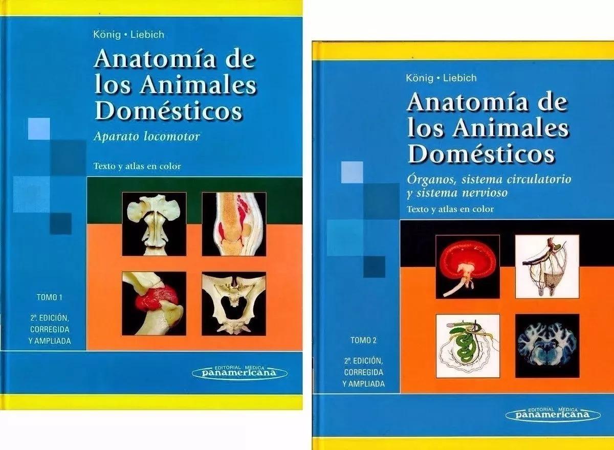 Anatomia De Los Animales Domésticos 1 Y 2 - Envio Gratis - $ 120,00 ...