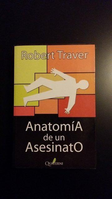 Anatomia De Un Asesinato - R. Traver - $ 1.610,00 en Mercado Libre