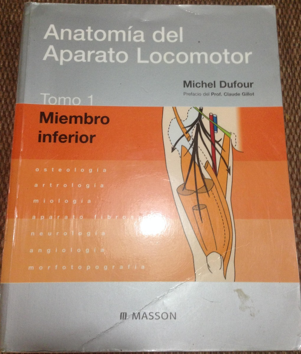 Anatomia Del Aparato Locomotor Vol 1. Michel Dufour - Bs. 825,00 en ...
