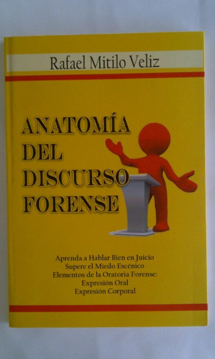 Anatomia Del Discurso Forense - Bs. 7,00 en Mercado Libre