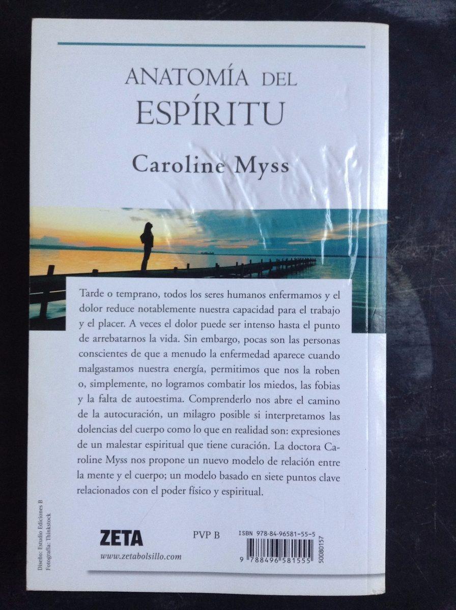 Anatomia Del Espiritu - Myss Caroline - Pdf - $ 15.350 en Mercado Libre