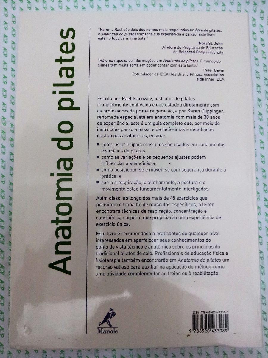Anatomia Do Pilates - Rael Isacowitz - R$ 95,00 em Mercado Livre