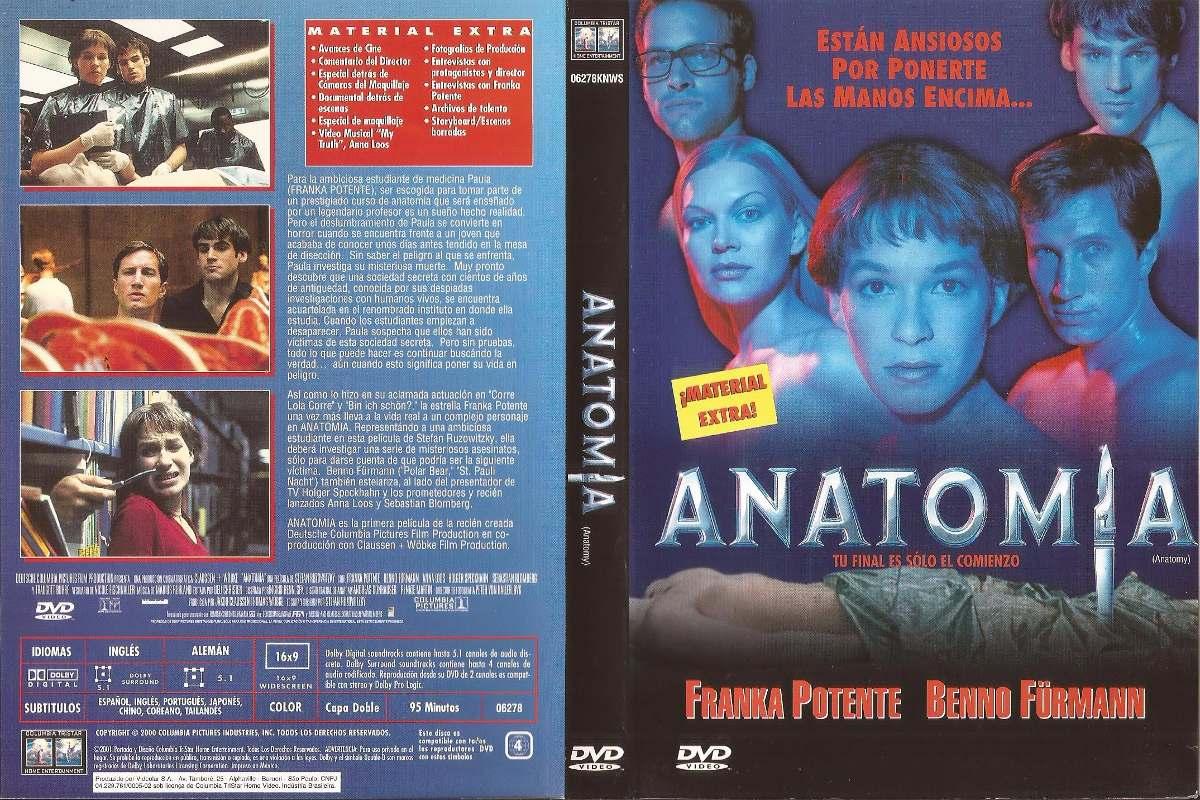 Anatomia Dvd Anatomy Terror Franka Potente Benno Fürmann - $ 120,00 ...