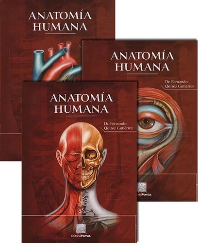 anatomia humana 1,2 y 3.   43a edición. reimpresión 2018