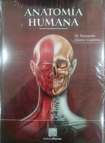 anatomia humana 3 vol. - fernando quiroz gutierrez envio exp