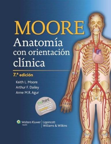 anatomia humana con orientación clínica de moore pdf