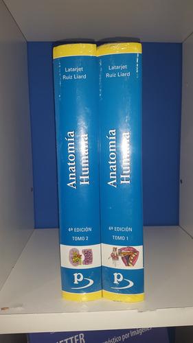 anatomía humana latarjet  2tomos 4°ed c/cd ed panamericana
