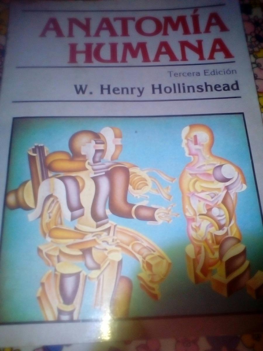 Anatomia Humana Medicina Hollinshead - $ 350,00 en Mercado Libre