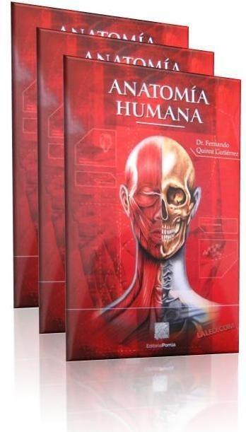 Anatomia Humana Quiroz - $ 1,190.00 en Mercado Libre