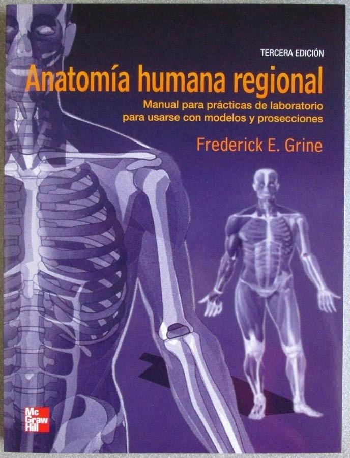 Anatomía Humana Regional /pract Laborat / Grine / Mcgrawhill ...