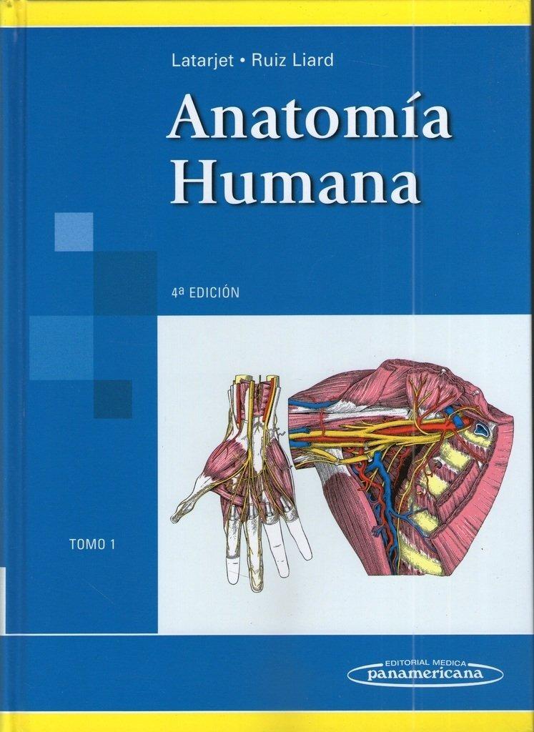 Anatomia Humana. Tomo 1 - Latarjet - $ 2.248,86 en Mercado Libre