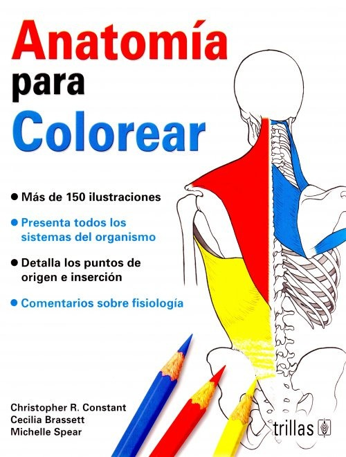 Anatomia Para Colorear - Constant - Libro - $ 280.00 en Mercado Libre