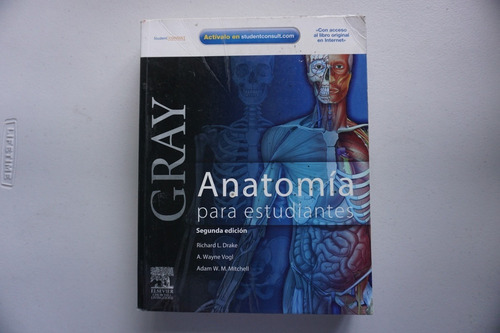 anatomía para estudiantes gray - buena condición