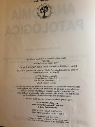 anatomía patológica - alan stevens