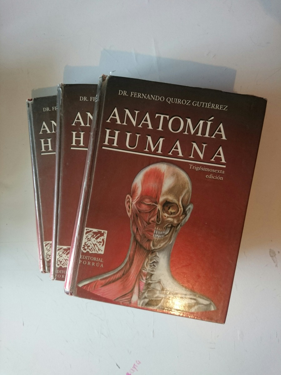 Anatomia Quiroz - $ 550.00 en Mercado Libre