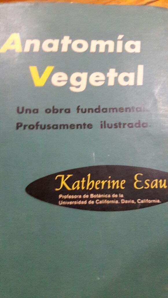 Anatomia Vegetal Esau M - $ 400,00 en Mercado Libre