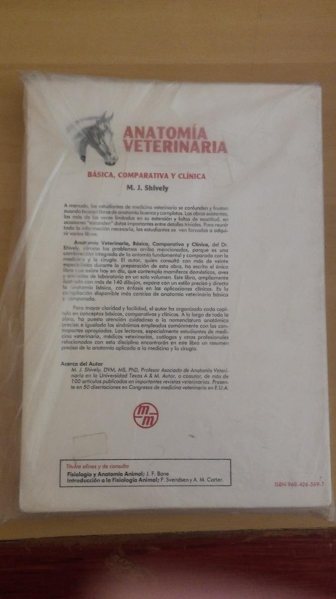 Anatomía Veterinaria Básica, Comparativa Y Clínica - $ 359.00 en ...
