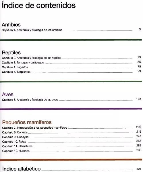 Anatomía Y Fisiología Clínica Animales Exóticos - Libro Pdf - $ 250 ...