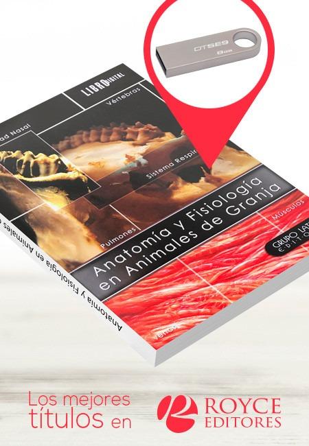 Anatomía Y Fisiología En Animales De Granja Con Usb - $ 5,690.00 en ...