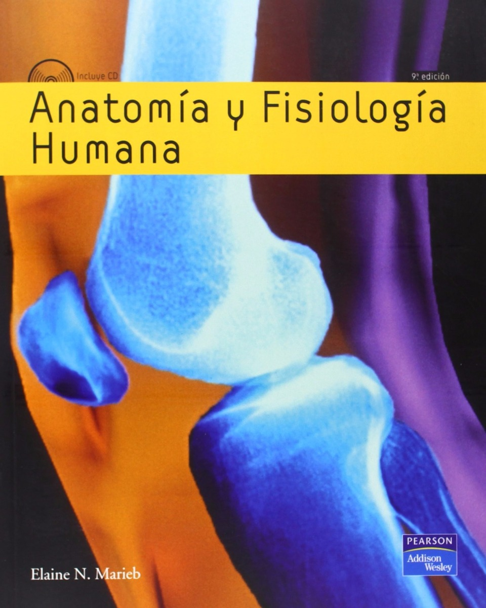 Anatomia Y Fisiologia Humana 9 Ed Marieb Con Cd Pearson - $ 1.319,00 ...