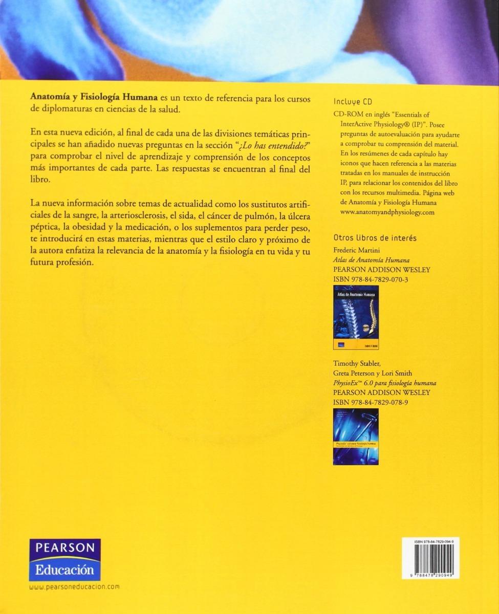 Anatomía Y Fisiología Humana- 9ª Edición + Cd... Marieb - $ 1.155,00 ...